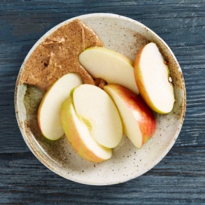 snack-apple-with-almond-butter